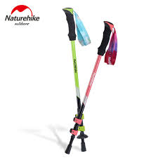 <b>NatureHike 1 pcs</b> Trekking Alpenstock Ultra-light External Lock EVA ...