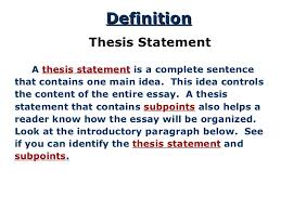 thesis for response to literature  ltulgtltligt a thesis statement