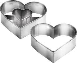 """<b>Набор формочек</b> для выпечки """"Сердце"""", <b>2</b> шт. 631190 - купить по ..."""