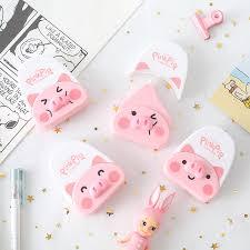 Mohamm 6mx5mm <b>Cute Pig</b> Animal <b>Kawaii</b> White Out Correction ...