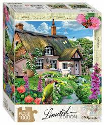 <b>Пазл Step puzzle</b> Limited Edition Розовый коттедж (79805), 1000 ...