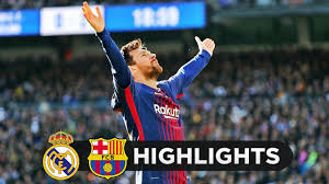 Real Madrid vs Barcelona 0-3 - All Goals & Highlights - 23122017 HD