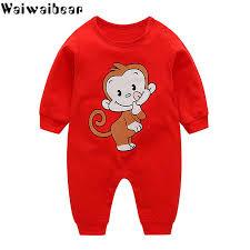 <b>Waiwaibear</b> Newborn Baby Rompers Baby Boys <b>Girls</b> Long Sleeved ...