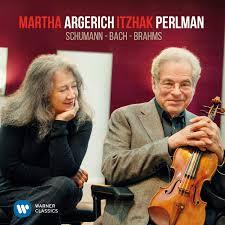 <b>Martha Argerich Itzhak Perlman</b> - Bach Schumann Brahms ...