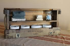 country themed reclaimed wood bathroom storage: wood pallet bathroom ideas il fullxfull ca wood pallet bathroom ideas