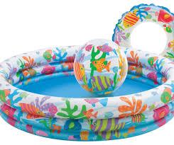 Надувной <b>детский бассейн INTEX</b> Веселые <b>рыбки</b> - Pool-Markt