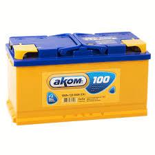 Купить Аккумуляторы: Аккумулятор <b>Аком</b> 6СТ-100 <b>пп 100 Ач</b> 850 А ...