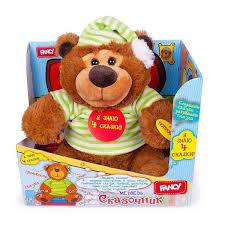 ROZETKA | <b>Интерактивная игрушка FANCY</b> Медведь-сказочник ...