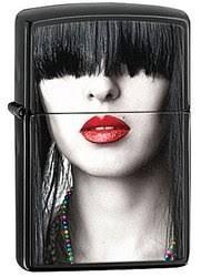 <b>Зажигалка Zippo</b> Woman <b>Red Lips</b> 28536