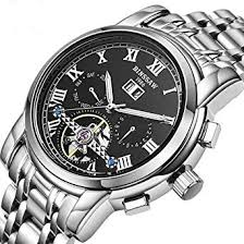 <b>BINSSAW Men</b> Tourbillon Automatic Mechanical Watch <b>Luxury</b>