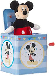<b>Disney Baby Mickey Mouse</b> Jack-in-The-Box - Musical Toy for Babies