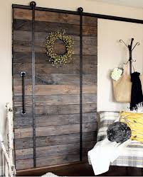 diy barn door could i do this in the kitchen to cover the sliding glass charming mirror sliding closet doors toronto