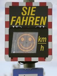 Bildergebnis für Smiley Geschwindigkeitsmessung