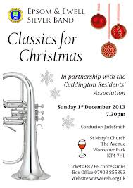 epsom and ewell silver band the