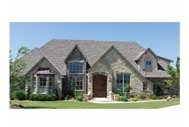 Eplans French Country House Plan   Stone Enhanced European Design    Front