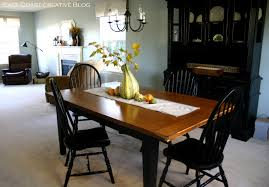 Refinishing A Dining Room Table Refinished Dining Room Table Furniture Makeover East Coast
