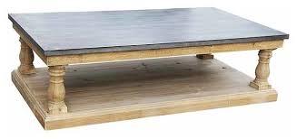 images zinc table top: design of zinc coffee table industrial zinc top coffee table at stdibs myfurnituredepo