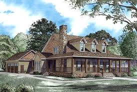 House Plan at FamilyHomePlans comCountry Farmhouse House Plan Elevation