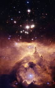 space exploration star cluster pismis 24 and ngc 6357
