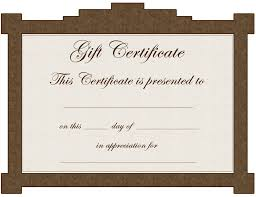 gift certificate template kiddo shelter gift certificate template 5