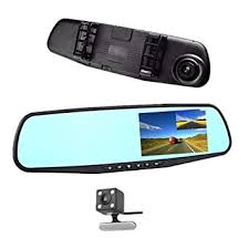 "jinyue <b>Car DVR</b> Rear view Mirror Video Recorder <b>4.3</b>"" <b>inch</b> Car ..."