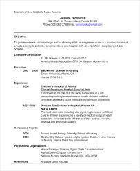 new graduate nursing student resume template nursing student resume samples