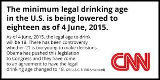 obama signs law to lower legal drinking age to    snopes comwhile it is true that some advocacy groups believe that the national minimum drinking age act  which penalizes states for establishing their minimum