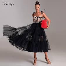 <b>Verngo</b> Черное и светло коричневое короткое <b>вечернее платье</b> ...