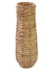 Ваза плетеная напольная для <b>сухоцветов</b> из листьев камыша 13 ...