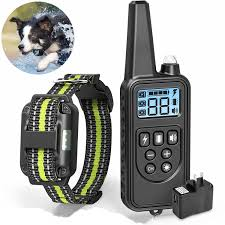 800M Remote Control Electric Pet <b>Dog Training Collar</b> Waterproof ...