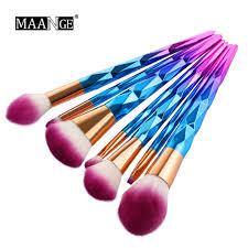 MAANGE <b>10Pcs</b>/15Pcs <b>Makeup Brushes</b> Set Powder Foundation ...