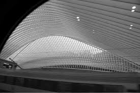 The <b>new</b> Calatrava-<b>designed high</b>-speed railway station of Liège ...
