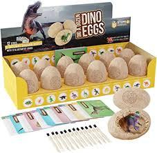 Dig a Dozen Dino Eggs Dig Kit - Easter Egg Toys for ... - Amazon.com