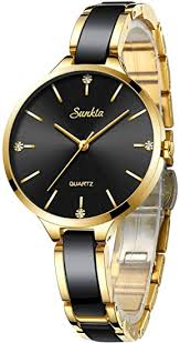 <b>SUNKTA</b> Watches for <b>Women Fashion</b> Minimalism Analog Quartz ...