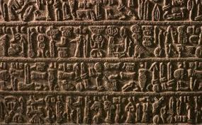 Resultado de imagem para escrita cuneiforme