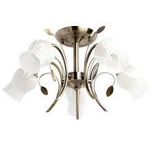 Потолочная <b>люстра MW Light Флора 256018205</b> - купить в ...