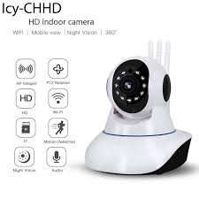 <b>Icy</b> Newest Smart Camera <b>PTZ</b> Version SE 360 Horizontal Angle ...