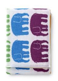 Elefantti Bath Towel  Patterned Towels 7007414230106
