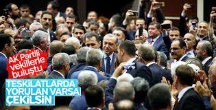 Erdoğan AK Partili vekillerle bir araya geldi