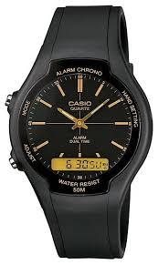 Наручные <b>часы CASIO AW</b>-<b>90H</b>-<b>9E</b> — купить по выгодной цене ...
