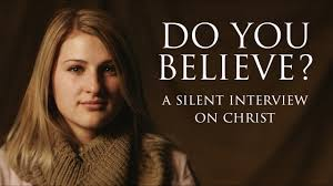 do you believe a silent interview on christ on vimeo