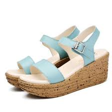 Sandals Low Wedges <b>Summer Shoes</b> in 2019 | Cute Casual <b>Shoes</b> ...