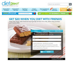 referral program examples listed plus bonus diet direct going on a diet is always more successful when you do it friends diet direct gives both referrers and referred friends 20 off their
