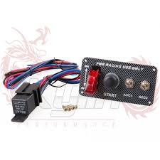 KYLIN STORE New B76 Racing Car <b>12V Ignition Switch Panel</b> ...
