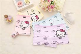 <b>4pcs</b>/<b>set</b> Cotton Boxer Briefs <b>Girls</b> Underwear princess <b>Children Kids</b> ...