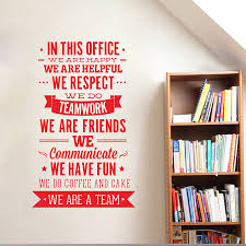 popular inspire wall vinyl sticker decal buy cheap inspire wall office rules wall sticker we are a team increase team cohesion inspiring quotes vinyl