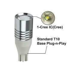<b>Super Bright High Power</b> Cree T10 <b>LED</b> Bulbs For <b>Car</b> Backup ...