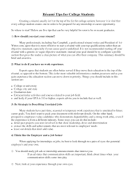 resumes for college students com resumes for college students to inspire you how to create a good resume 17