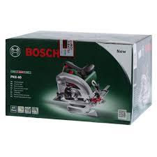 Циркулярная <b>пила Bosch PKS 40</b>, 850 Вт, 130 мм в Иваново ...