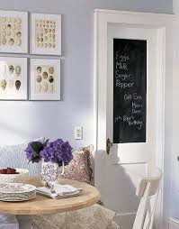 blue grey casual dining chalkboard door lilac walls paint color breakfast nook and art blue grey paint colors view
